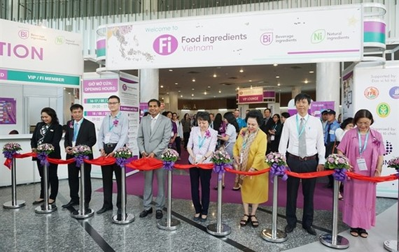 The opening ceremony of Fi Vietnam 2018 (Source: nongnghiep.vn)
