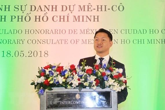 Honorary Consul of Mexico to HCM City Vu Minh Anh (Photo: VNA)