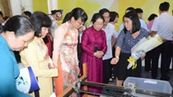 Exhibition on trade union activities held in HCMC