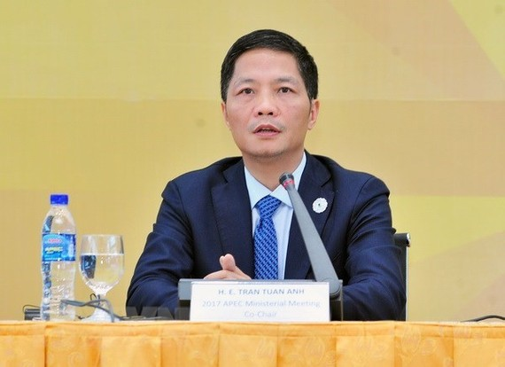 Minister of Industry and Trade Tran Tuan Anh (Photo: VNA)