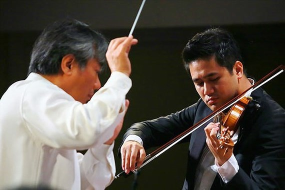 Violinist Bui Cong Duy to perform at Toyota Concert 2018