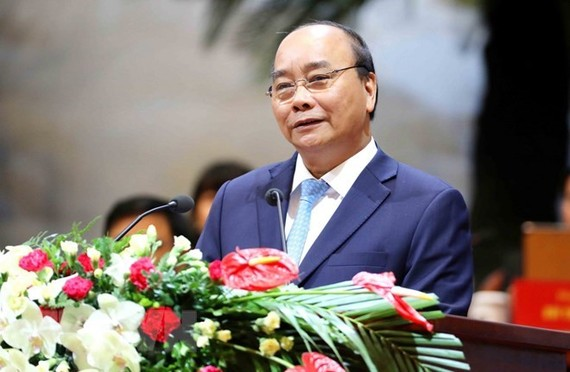 Prime Minister Nguyen Xuan Phuc at the event (Source: VNA)