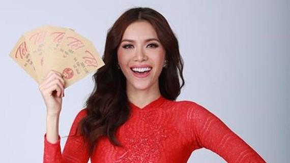 Model Minh Tu represents Vietnam at Miss Supranational 2018 pageant