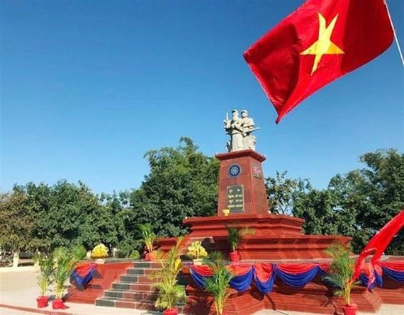 Vietnam-Cambodia friendship monument inaugurated in Ratanakiri Province