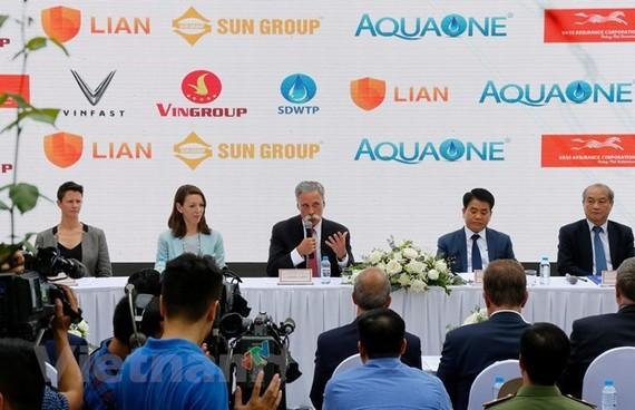 At the press conference (Source :VNA)