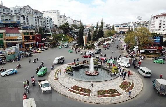 A corner of Da Lat city (Source: VNA)