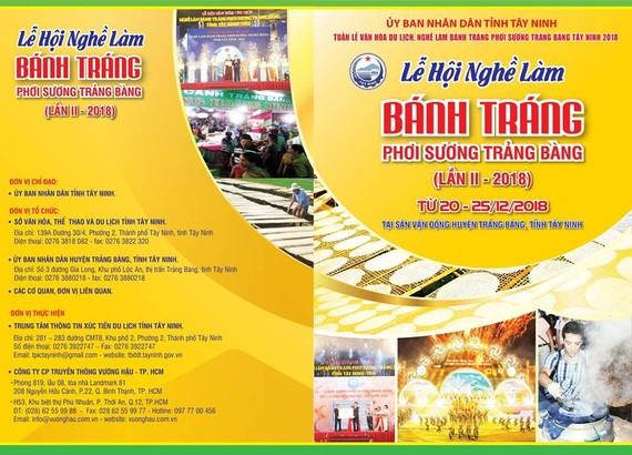Culture-tourism week to honor Trang Bang rice paper