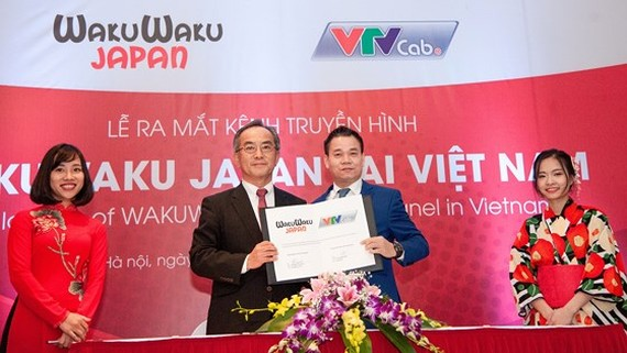 VTVcab brings first Japanese TV channel to Vietnamese audience