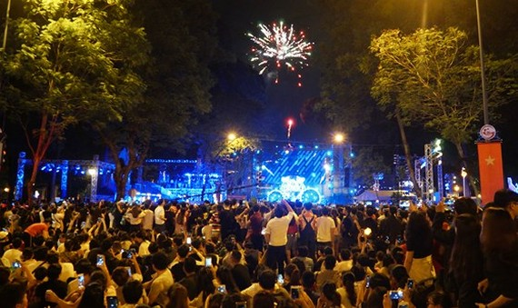 Tiger Remix music festival in HCMC