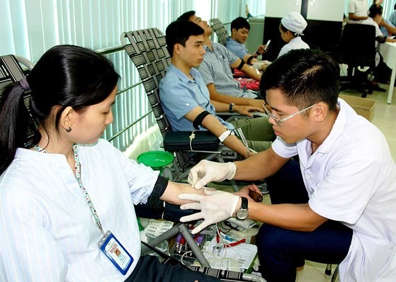 More than 1 millions blood units collected in HCMC in 2018
