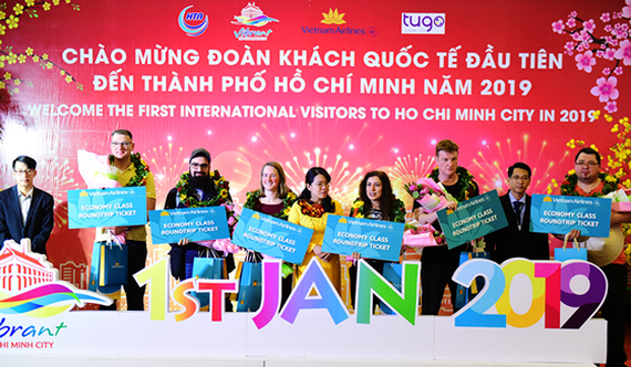 HCMC welcomes first visitors in 2019