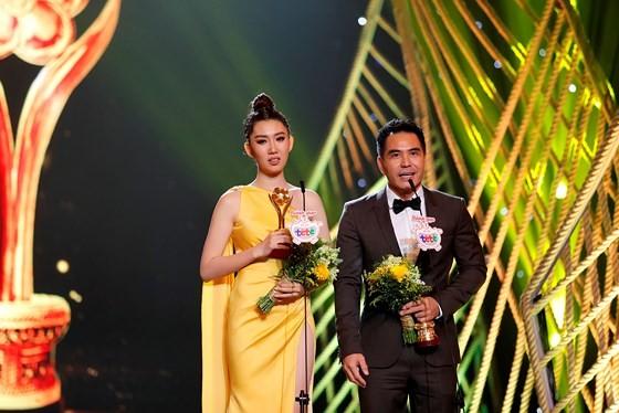 Actor Trung Dung and actress Thuy Ngan