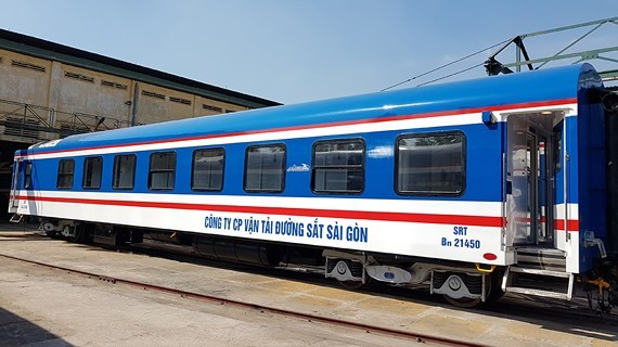 Saigon Railway adds 10 'five-star' carriages to be used for Tet holiday