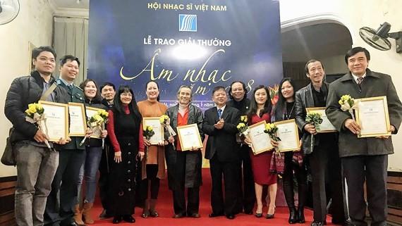 Winners of 2018 Vietnam Musicians Association Awards honored