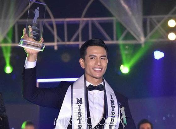 Vietnamese model wins Mr International 2019