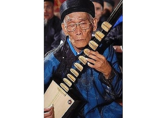 Master Musician of folk instrument passed away