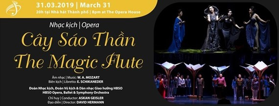 Mozart's 'The Magic Flute' performed at HCMC opera house
