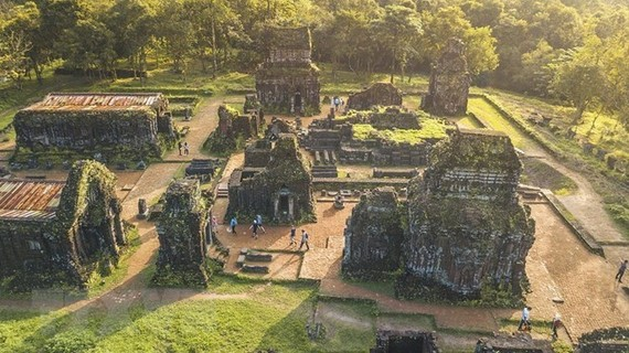 The My Son Sanctuary is comprised of eight groups of 71 monuments built throughout the 7th to 13th centuries. (Photo: VNA)
