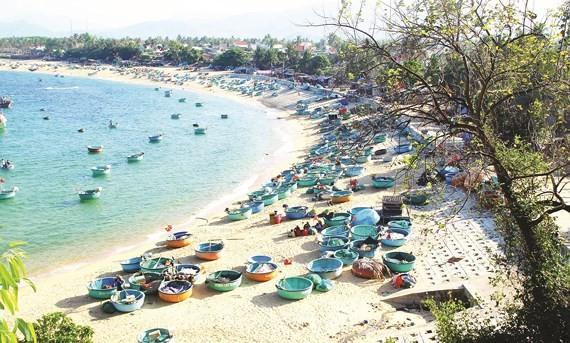 Xuan Hai fishing village in Song Cau town, Phu Yen province