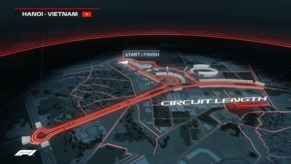 ickets for the Formula 1 Vietnam Grand Prix 2020 went on sale via all channels from the morning of July 17. (Photo: VinGroup)