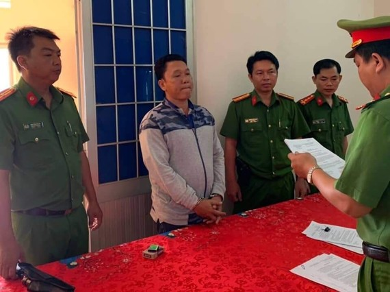 Bị can Vũ bị bắt tạm giam