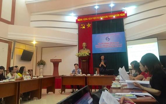 Họp báo công bố giải thưởng Phụ nữ Việt Nam 2017
