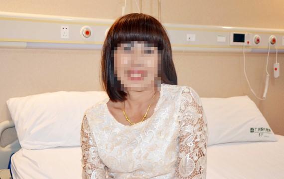 康復後的娜娜一臉輕鬆。