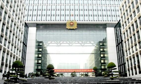 Trụ sở Bộ Công an ở số 47 phố Phạm Văn Đồng, quận Cầu Giấy, Hà Nội
