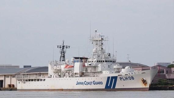 Echigo patrol vessel will travel Vietnam on June 13. (Source: marinetraffic.com)