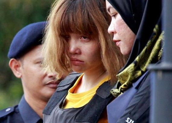 Doan Thi Huong, the Vietnamese murder suspect in Malaysia, was transferred to Shah Alam High Court