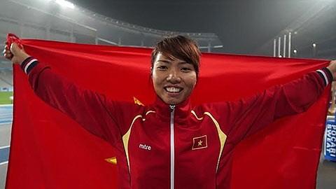 Vietnamese athlete Bui Thi Thu Thao (Photo:SGGP)