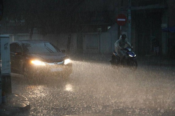 Medium- heavy rains hit the northern region