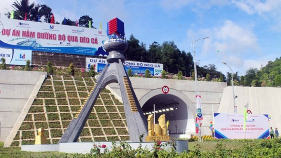 Ca Pass Tunnel is put into operation