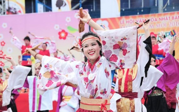 A Vietnam-Japan cultural festival in HCM City (Photo: Sggp)