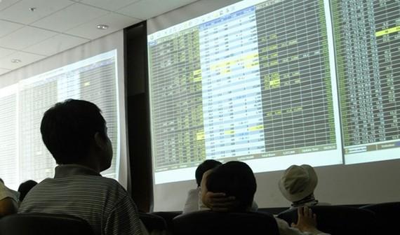 Investors at Bao Viet Securities Company. (Photo: VNA)