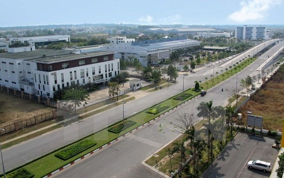 A view of the Saigon Hi-Tech Park (Photo: VNA)