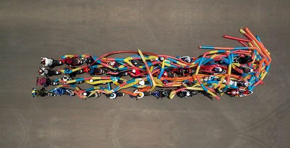 An artwork by Uu Dam Tran Nguyen