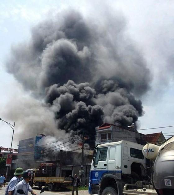 Scene of the fire (Photo: Sggp)