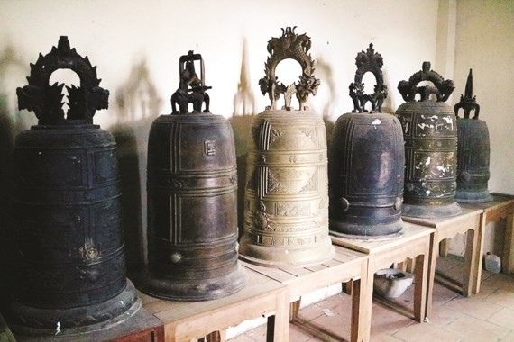 Ancient bronze bells