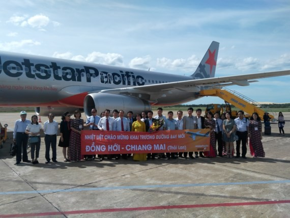 First flight from Quang Binh to Chiangmai