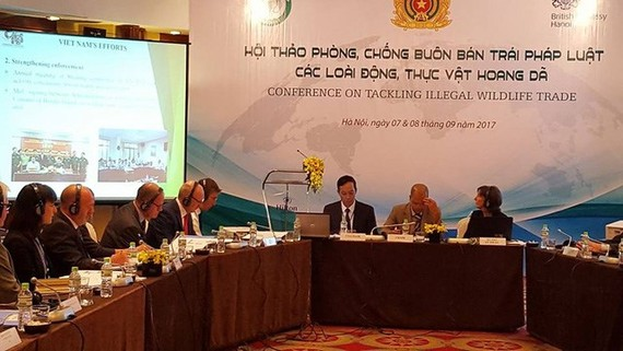 The conference on tackling illegal wildlife trade takes place in Hanoi on September 7-8 (Photo: UK Embassy in Vietnam)