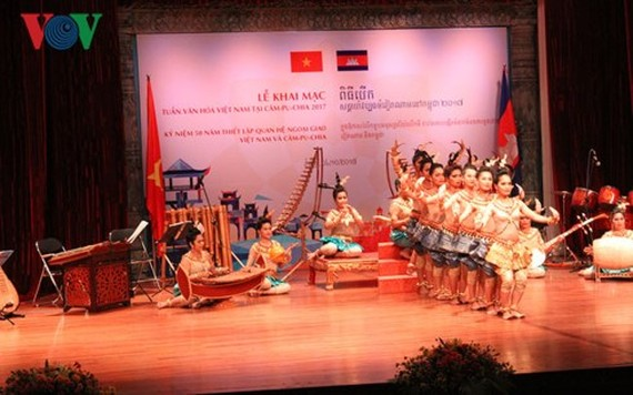 A Vietnamese ​Cultural Week began in Phnom Penh, Cambodia on October 4. (Photo: VOV)