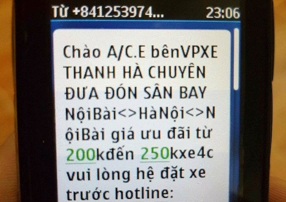 The Civil Aviation Authority of Vietnam (CAAV) will cooperate with the police to conduct legal proceedings and impose heavy fines against those who sell, exchange and use personal information of flight passengers (Photo: tuoitre.vn)