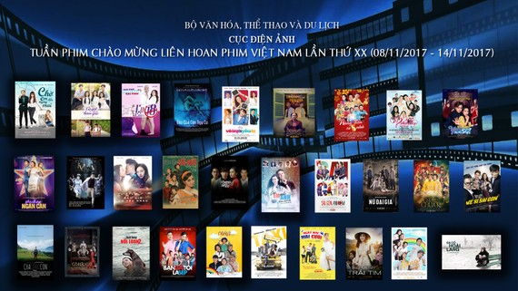 Week of free movie screenings to mark the 20th Vietnam Film Festival