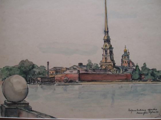 Fine arts exhibition celebrates Russian October Revolution