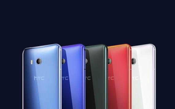 HTC U11 với 5 màu sắc biến ảo