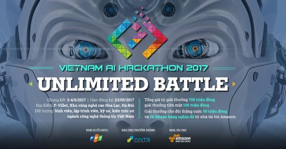 Vietnam AI Hackathon 2017, cuộc thi lập trình về trí tuệ nhân tạo