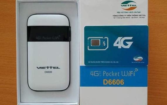 Bộ phát wifi  di động Wifi Router 4G của Viettel