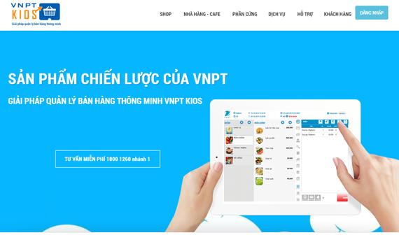 VNPTKios với giao diện dễ dàng sử dụng