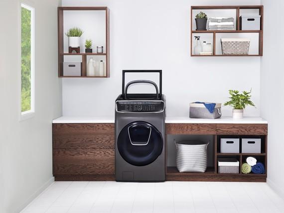 lexWashTM, kết hợp 2 lồng giặt và 1 máy sấy